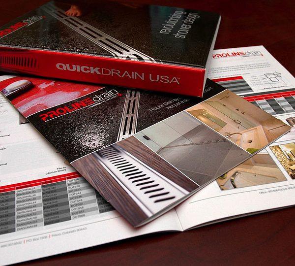 QuickDrain Binder and Sales Brochure