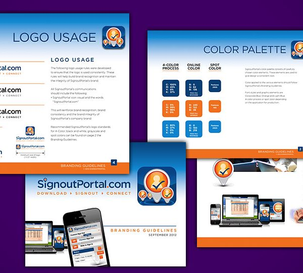 Signout Portal Branding Guidelines