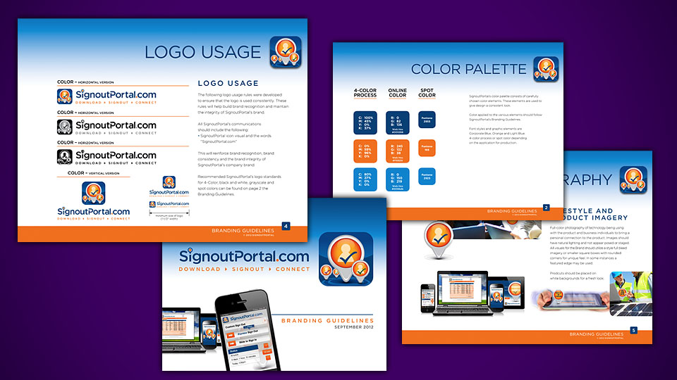 Signout Portal Branding Guidelines