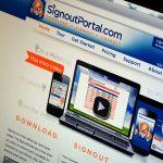 Signout Portal Website